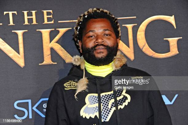 Sjava during the official South African Premiere of Disney's The Lion King at the Johannesburg Country Club on July 18 2019 in Johannesburg South...