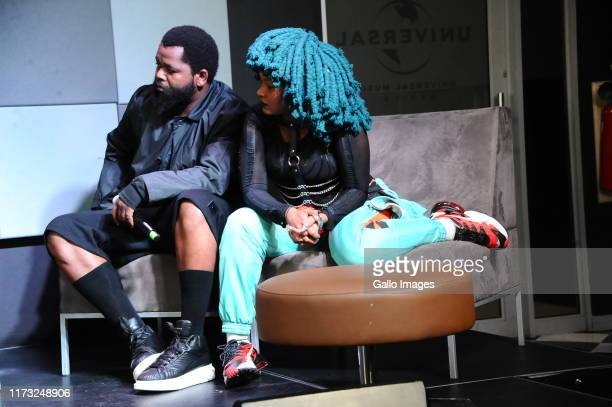 Sjava Moonchild sanelly during the Music Is King media launch held at the Universal Studios on October 02 2019 in Johannesburg South Africa The music...