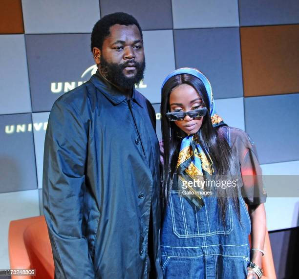 Sjava Nomuzi Mabena during the Music Is King media launch held at the Universal Studios on October 02 2019 in Johannesburg South Africa The music...