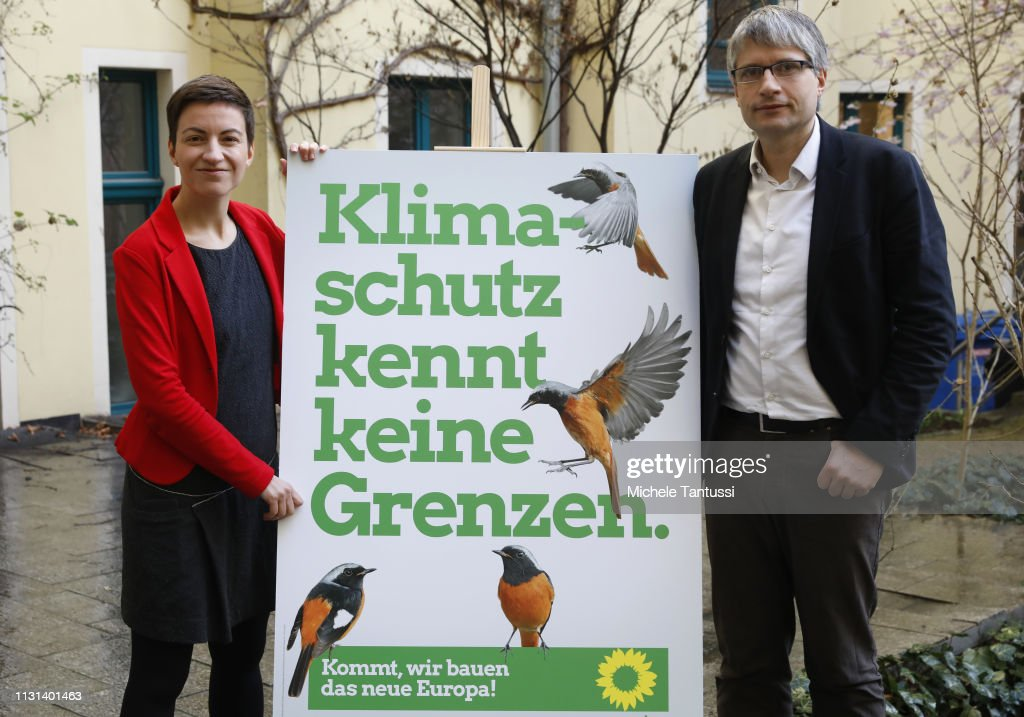 DEU: Greens Party Launches European Elections Campaign