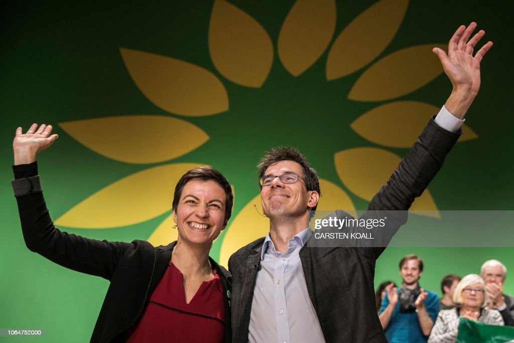 GERMANY-EU-POLITICS-PARTY-GREENS : News Photo
