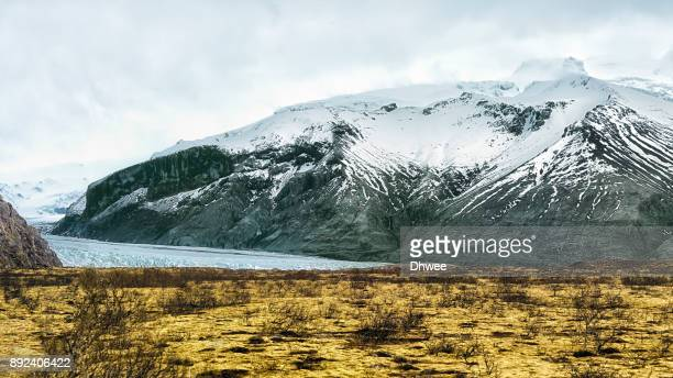skaftafell glacier vatnajökull national park, iceland - skaftafell national park stock photos and pictures