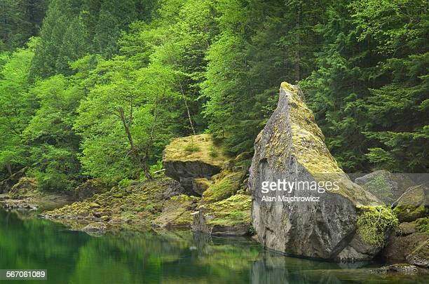 Skagit River Gorge, North Cascades, Washington