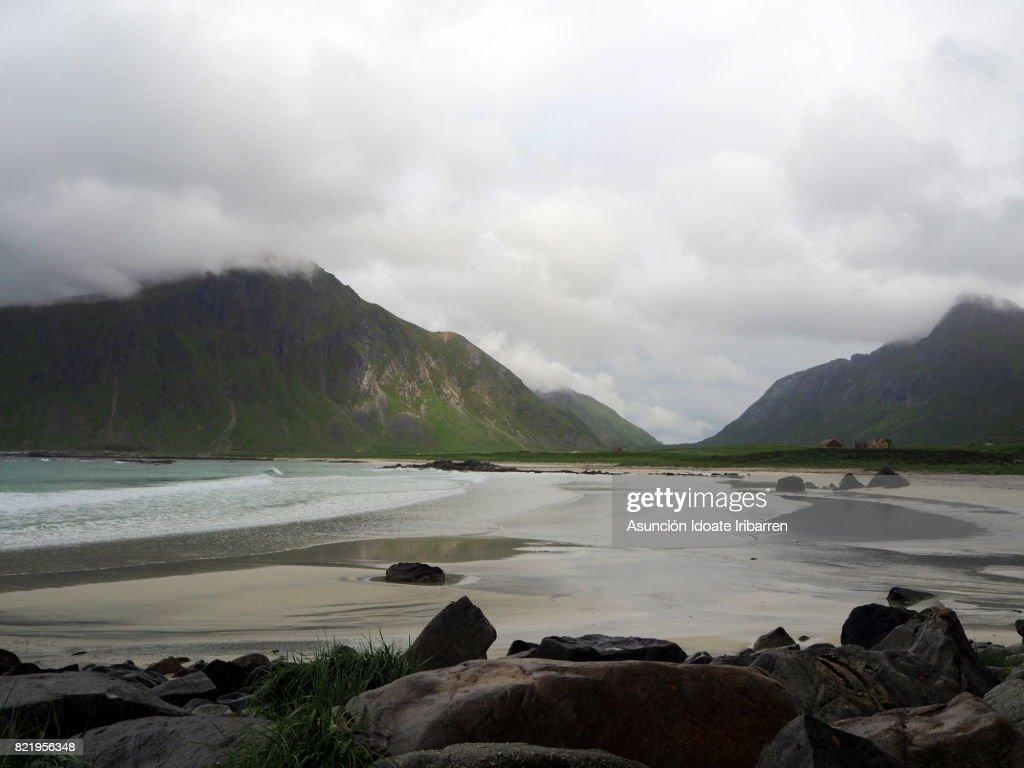 Skagsanden beach : Stock Photo