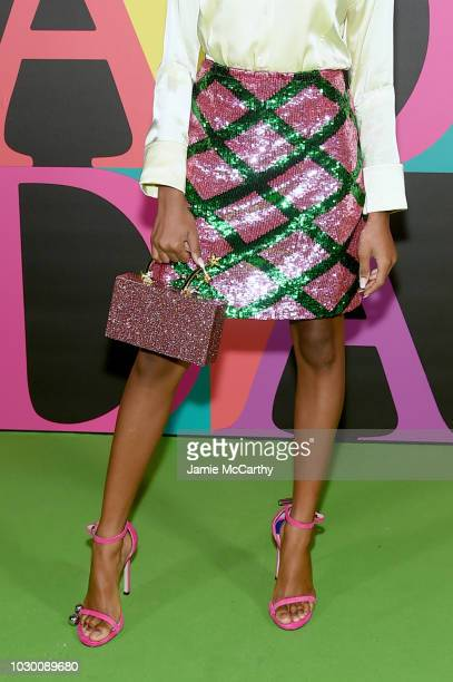Skai Jackson attends the ESCADA SS19 show at the Park Avenue Armory on September 9 2018 in New York City