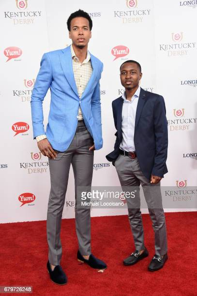 Skal Labissiere attends the 143rd Kentucky Derby at Churchill Downs on May 6 2017 in Louisville Kentucky