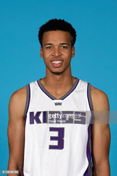 Skal Labissiere of the Sacramento Kings poses for a headshot during the 20162017 Sacramento Kings Media Day on September 26 2016 at the Kings...
