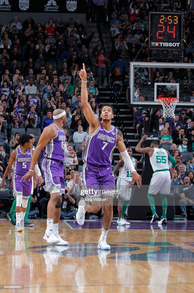 Boston Celtics v Sacramento Kings