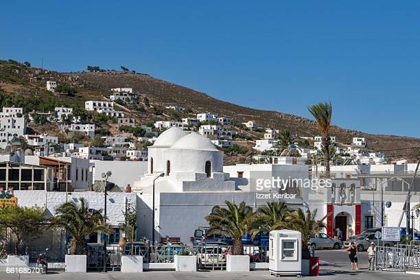 Skala town, Patmos island Dodecanese, Greece