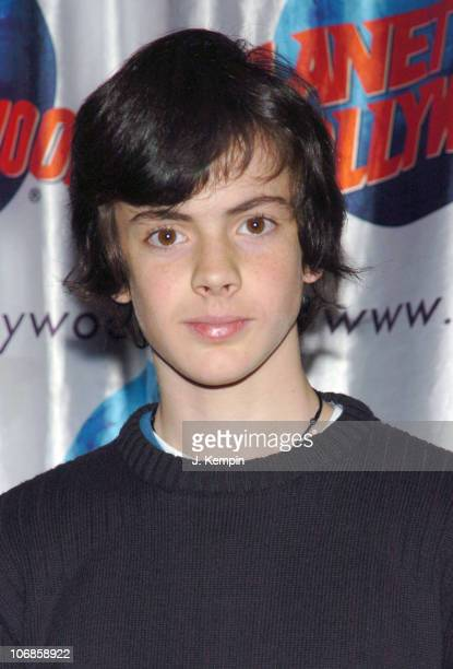 Skandar Keynes during The Cast of The Chronicles of Narnia Donates Memorabila at Planet Hollywood in Times Square December 9 2005 at Planet Hollywood...