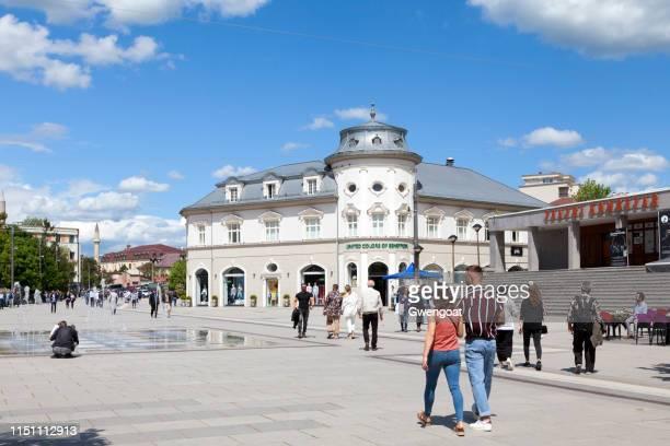 Skanderbeg square in Pristina