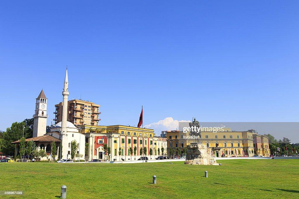 Skanderbeg Square : Stockfoto