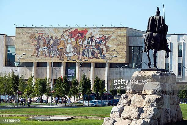 skanderbeg square - tirana, albania - tirana stock pictures, royalty-free photos & images