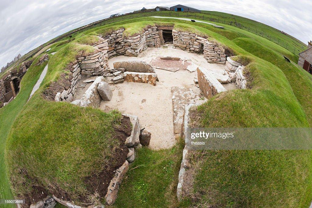 Skara Brae, Orkney : Stock Photo