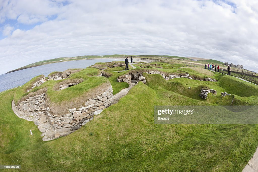 Skara Brae, Orkney : Stock Photo