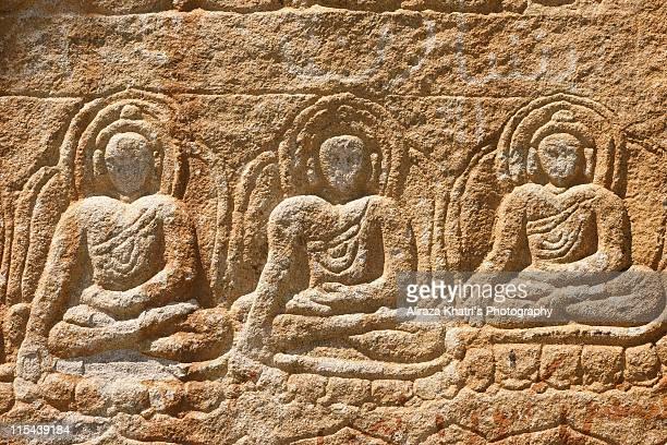 skardu,manthol village buddha - skardu stock pictures, royalty-free photos & images