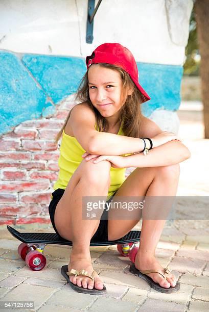 Skate-Mädchen