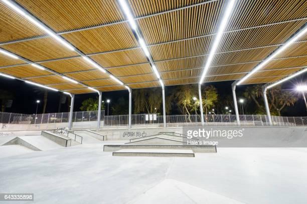 Skateboard Park in Eilat, Israel