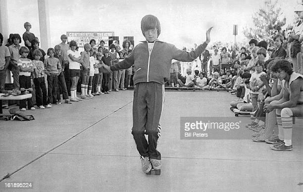 JUN 11 1976 JUN 12 1976 JUN 13 1976 Skateboard Skill Shown Gary Hornby left and Mark Crumpacker were two participants in a safety clinic Saturday at...