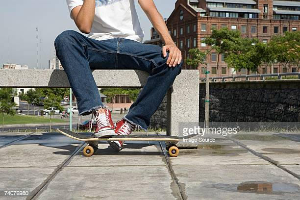 skateboarder - jeans stock pictures, royalty-free photos & images