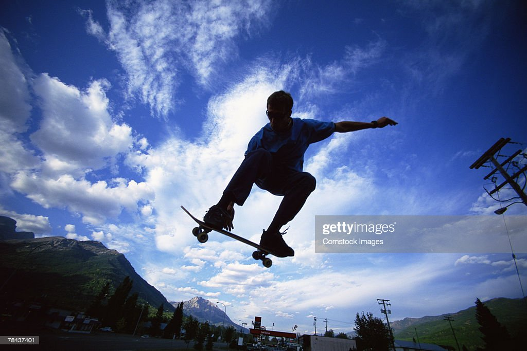 Skateboarder : Stockfoto