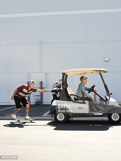 Skateboarder Ryan Sheckler is photographed for Golf Digest on September 17 2013 in Los Angeles California