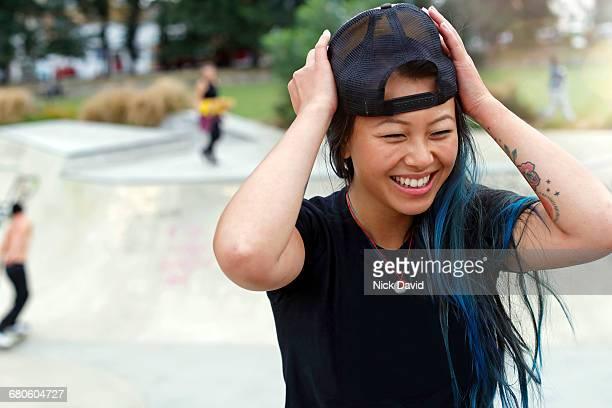 skateboarders - black hat stock pictures, royalty-free photos & images