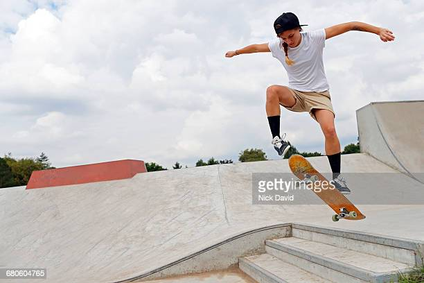 skateboarders - skating stock pictures, royalty-free photos & images