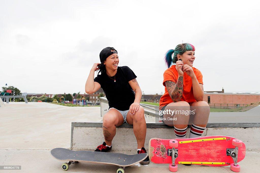Skateboarders : Stock Photo