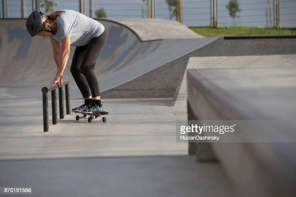 Skateboarding is leisure activity for active seniors.