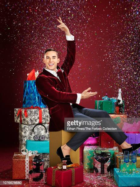 Skater Adam Rippon is photographed for Forbes Magazine on October 19 2018 in Culver City California PUBLISHED IMAGE CREDIT MUST READ Ethan Pines/The...