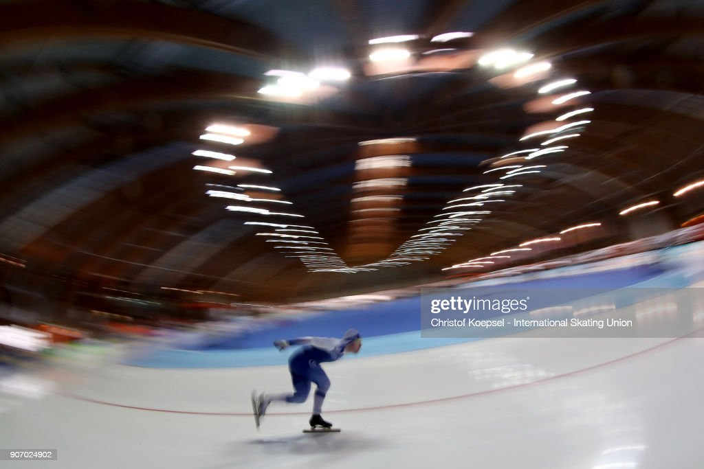 ISU World Cup Speed Skating - Erfurt