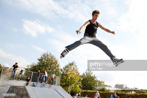Skater in the air