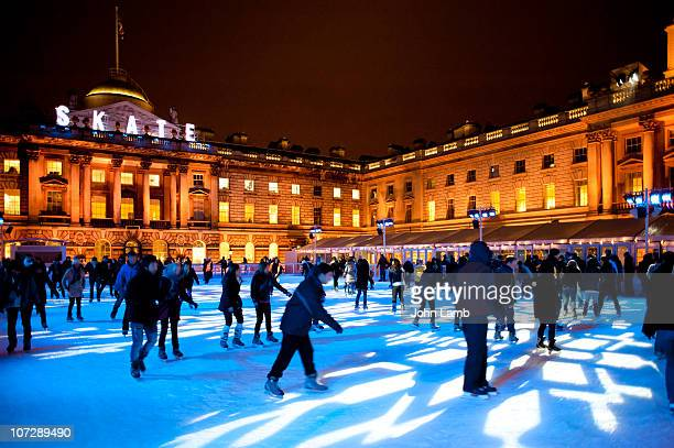 Skaters at Somerset House