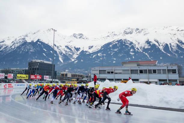 AUT: ISU Junior World Cup Speed Skating - Innsbruck