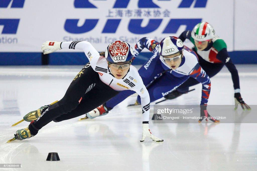 CHN: Audi ISU World Cup Short Track Speed Skating Shanghai