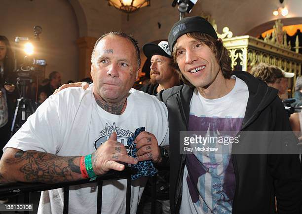 """Skating Legends Jay Adams and Rodney Mullen attends the To The Maxx Screening: """"Bones Brigade: An Autobiography"""" held at the Arlington Theatre on..."""