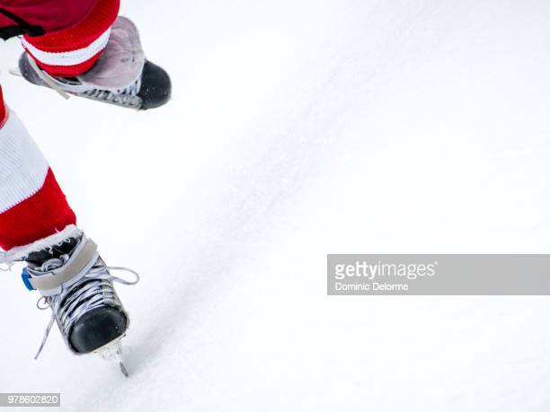 skating - hockey stick stock pictures, royalty-free photos & images