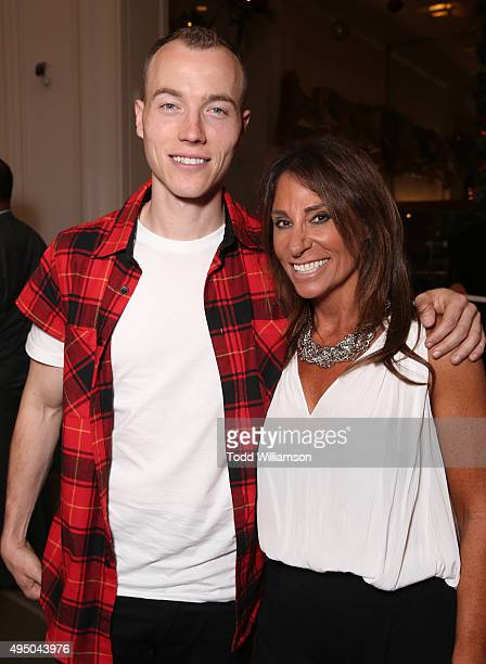 Skee and Beth Moskowitz attend a Del Toro Chandler Parsons Event at Saks Fifth Avenue Beverly Hills on October 30, 2015 in Beverly Hills, California.