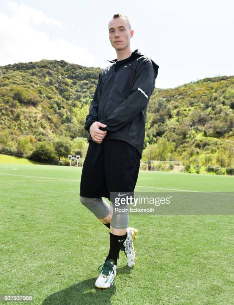 Skee at Viva Con Agua's 1st annual Waterweek LA celebrity soccer match at Glendale Sports Complex on March 25, 2018 in Glendale, California.