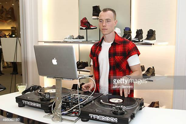 SKee attended the Del Toro x Chandler Parsons Launch 2.0 Collection at Saks Fifth Avenue Beverly Hills on October 30, 2015 in Beverly Hills,...