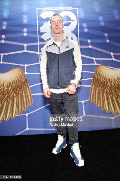 Skee attends God's House of Hip Hop Press Conference at Banc of California Stadium on January 23, 2020 in Los Angeles, California.