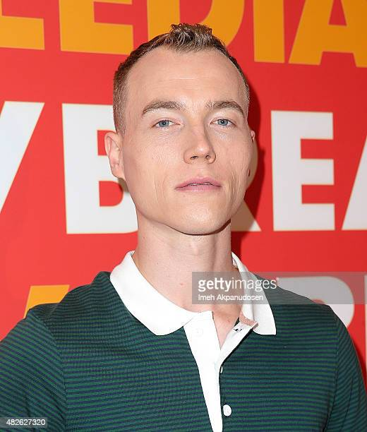 Skee attends the FUSE Media TCA Mixer at The Beverly Hilton Hotel on July 31 2015 in Beverly Hills California