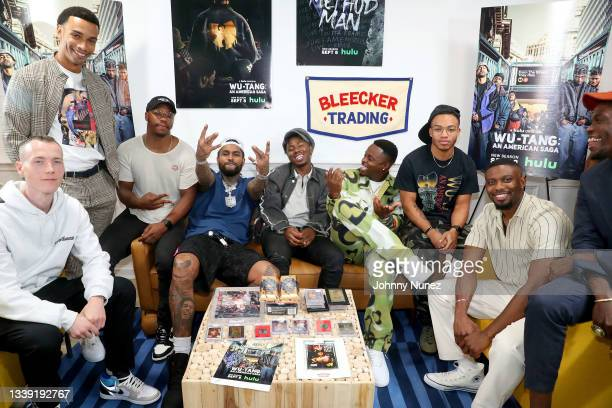 Skee, Julian Elijah Martinez, Marcus Callender, Dave East, TJ Atoms, Johnell Young, Damani D. Sease, Christian Andersen, JaQwan J. Kelly, and Curtiss...