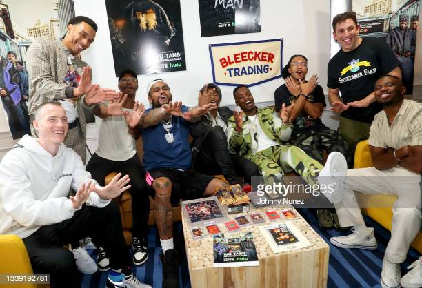 Skee, Julian Elijah Martinez, Marcus Callender, Dave East, TJ Atoms, Johnell Young, Damani D. Sease, Christian Andersen, and JaQwan J. Kelly attend...