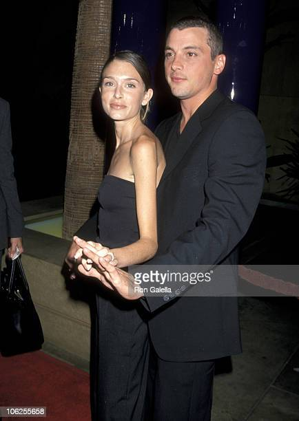 Skeet Ulrich and wife Georgina Cates during Chill Factor Hollywood Premiere at Egyptian Theatre in Hollywood California United States