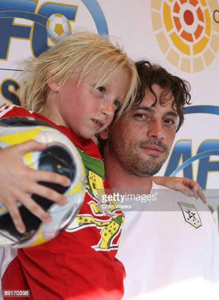 Skeet Ulrich attends Chelsea FC and InterMilan soccer match benefitting LAFC Chelsea and Africa Outreach Project at The Rose Bowl on July 21 2009 in...