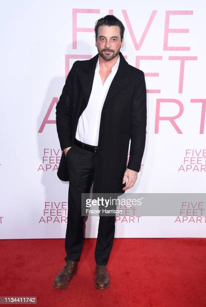 Skeet Ulrich attends the Premiere Of Lionsgate's Five Feet Apart at Fox Bruin Theatre on March 07 2019 in Los Angeles California