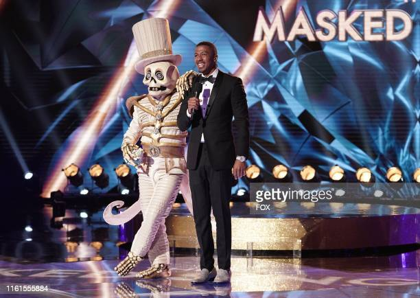 Skeleton and Nick Cannon THE MASKED SINGER premieres Wednesday Sept 25 on FOX