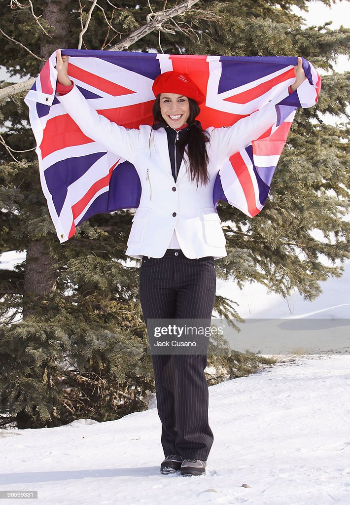 00 ON 11TH FEBRUARY VANCOUVER TIME) Skeleton athlete Shelley Rudman, who was selected to be the Team GB Flag Bearer at the Opening Ceremony of the Vancouver 2010 Olympic Winter Games on 12th February, poses on February 10, 2010 in Calgary, Alberta, Canada. Rudman is an Olympic silver medallist from Turin 2006 and will lead the Team GB contingent of 52 athletes from 11 sport disciplines into the BC Place stadium in Vancouver.